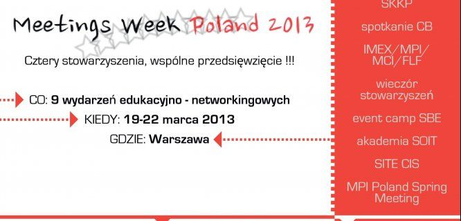 11 dni do Meetings Week Poland
